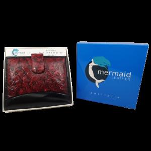 Arial II Barramundi and Kangaroo Leather Wallet